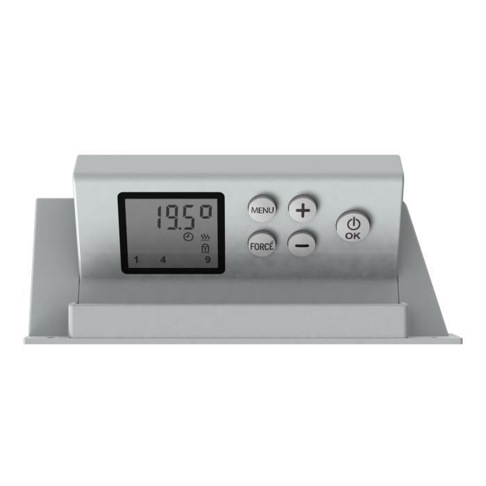 carrera chauffage radiateur seche serviettes 1000w blanc 308140. Black Bedroom Furniture Sets. Home Design Ideas