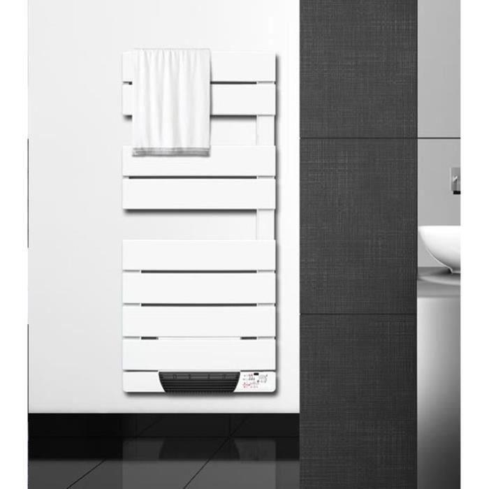 cayenne seche serviettes lectrique avec soufflerie 600 1000 watts barres plates asym triques. Black Bedroom Furniture Sets. Home Design Ideas