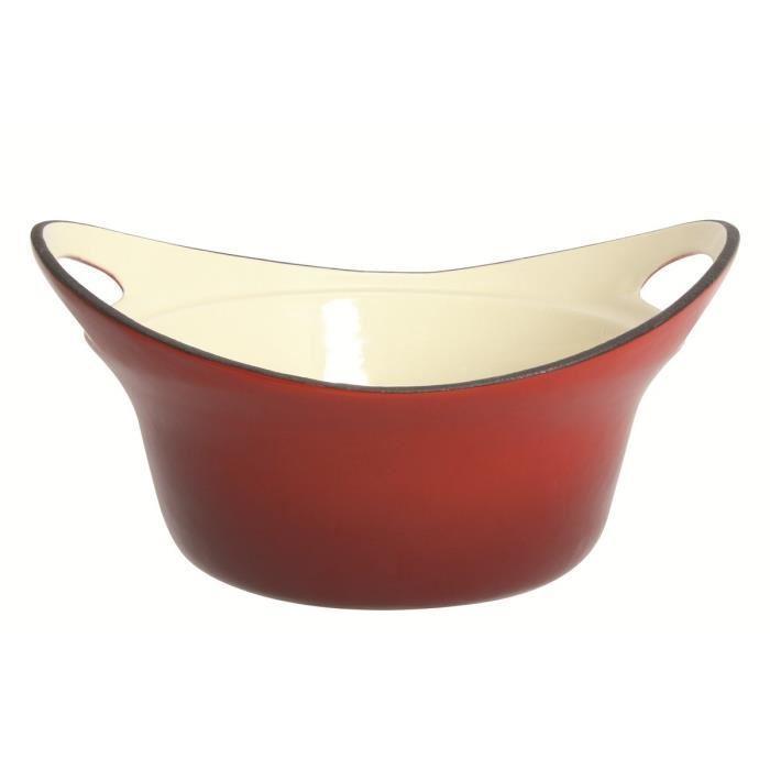 menastyl menastyl caquelon avoriaz 23 cm fonte vas rouge 400696. Black Bedroom Furniture Sets. Home Design Ideas