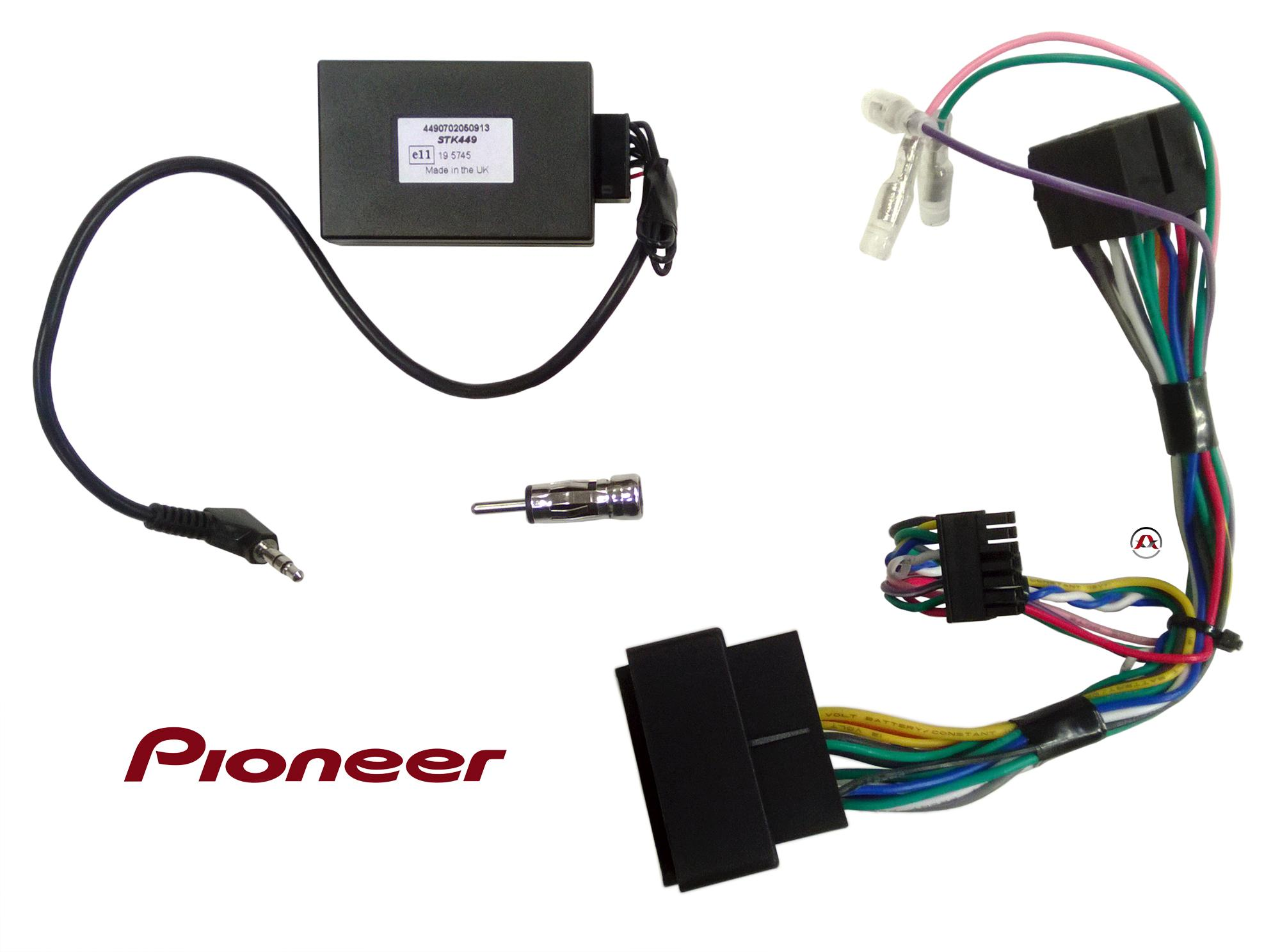 Cav pioneer pioneer ca r for 962ae interface commande au volant