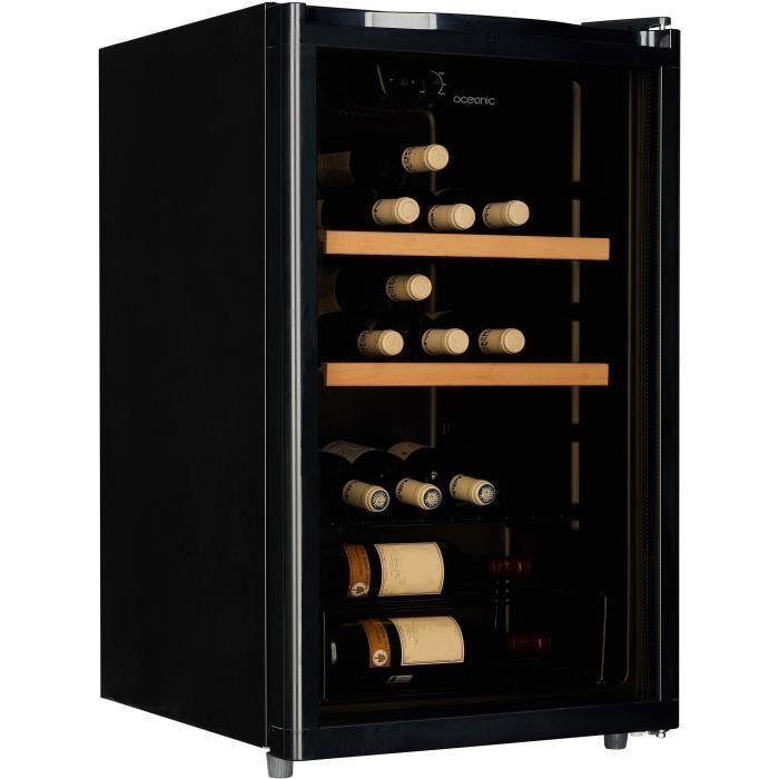 candy candy ccv150eu cave a vin 42 bouteilles 321358. Black Bedroom Furniture Sets. Home Design Ideas