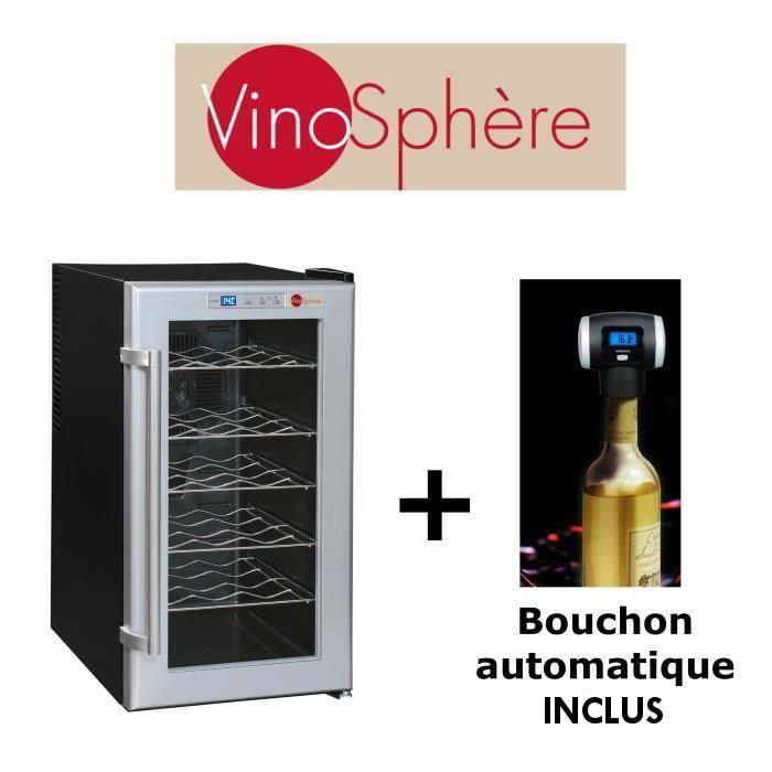 vinosphere vinosphere vn18fd cave a vin de service 18. Black Bedroom Furniture Sets. Home Design Ideas