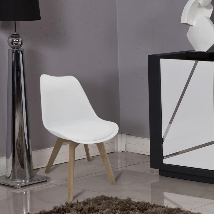 aucune bjorn chaise de salle a manger blanche 236592. Black Bedroom Furniture Sets. Home Design Ideas