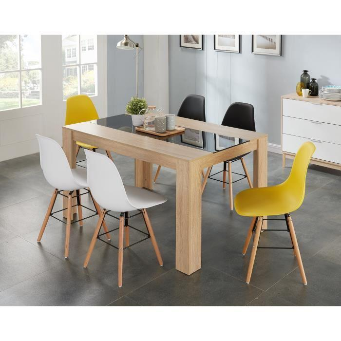 Chaise Salle A Manger Jaune Idees Decoration Idees Decoration