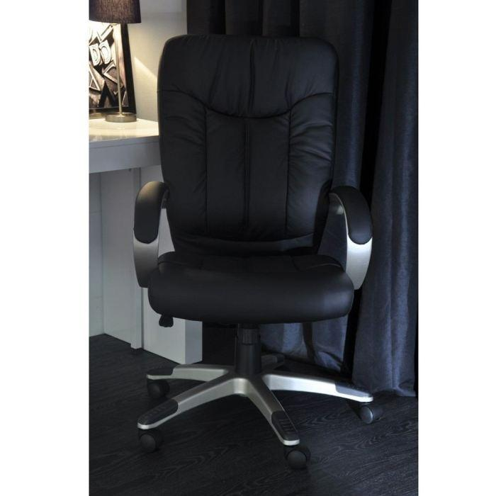 aucune manager fauteuil de bureau noir grand confort 236662. Black Bedroom Furniture Sets. Home Design Ideas