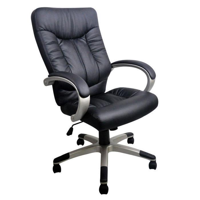 aucune manager fauteuil de bureau noir grand confort 236662. Black Bedroom Furniture Sets. Home Design Ideas