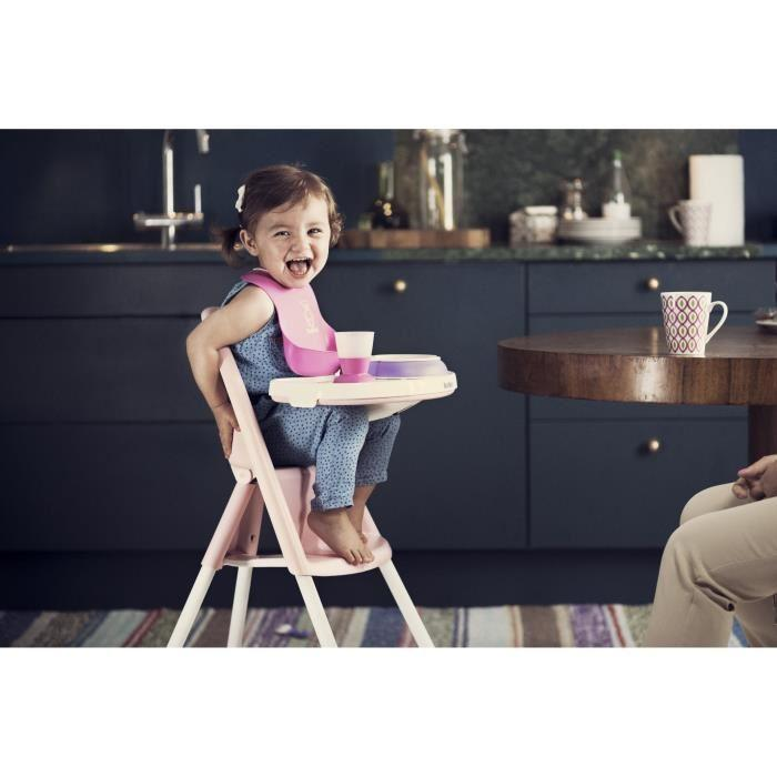 babybjorn babybjorn chaise haute rose clair 336298. Black Bedroom Furniture Sets. Home Design Ideas