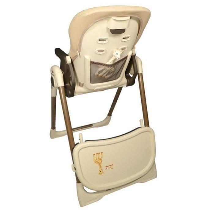 renolux sophie la girafe chaise haute vision 263284. Black Bedroom Furniture Sets. Home Design Ideas