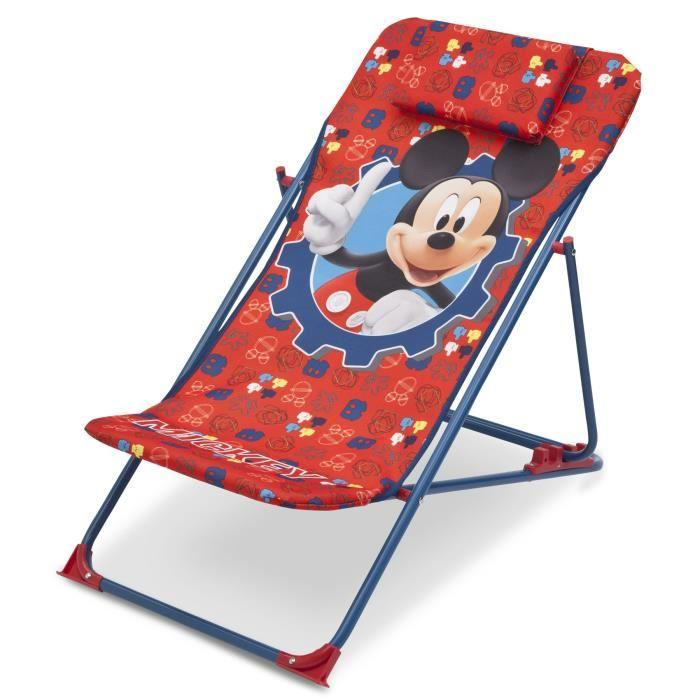 delta children mickey chaise de plage transat enfant. Black Bedroom Furniture Sets. Home Design Ideas