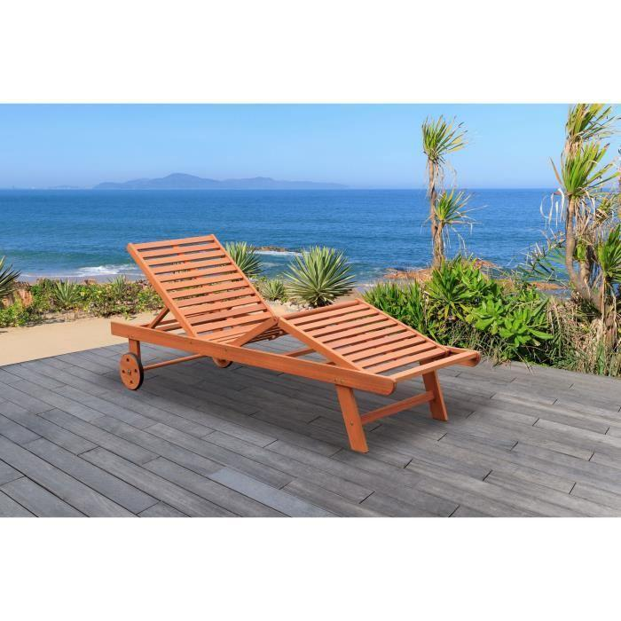 finlandek bain de soleil r glable en eucalyptus rauha 356177. Black Bedroom Furniture Sets. Home Design Ideas