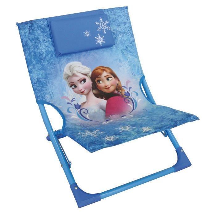 jemini la reine des neiges chaise longue 539151. Black Bedroom Furniture Sets. Home Design Ideas
