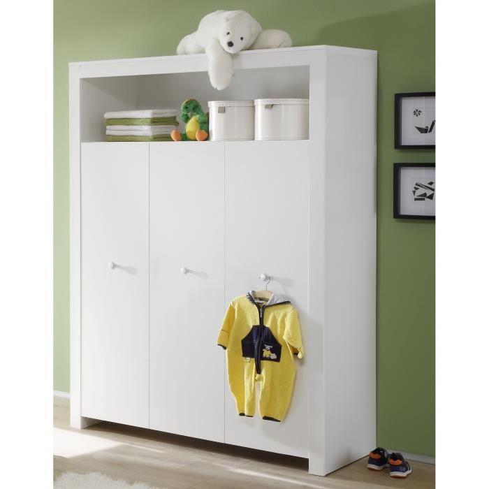 trend team olivia chambre bebe complete 3 pieces 276670. Black Bedroom Furniture Sets. Home Design Ideas