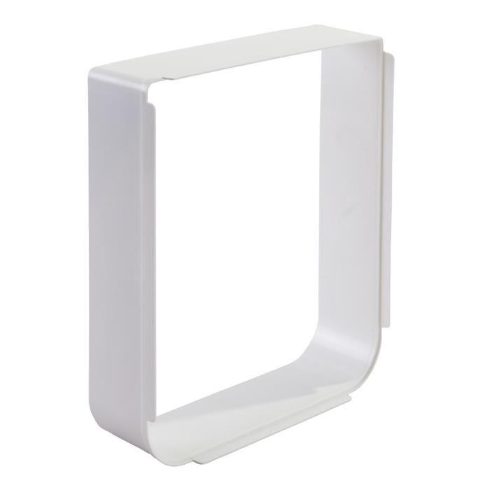 sureflap grande extension de tunnel pour chatiere a puce blanc 287285. Black Bedroom Furniture Sets. Home Design Ideas