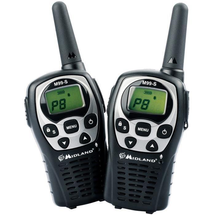 midland midland talkie walkie m99s base chargeur oreillettes 393772. Black Bedroom Furniture Sets. Home Design Ideas