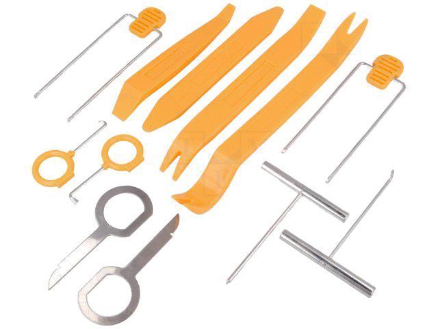 adnauto kit cles extraction autoradio et outils de demontage 230536. Black Bedroom Furniture Sets. Home Design Ideas
