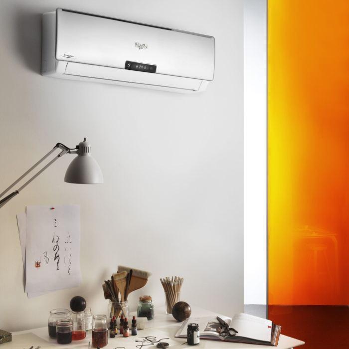 whirlpool whirlpool climatiseur fixe 6eme sens 5000 watts amd3561 291320. Black Bedroom Furniture Sets. Home Design Ideas