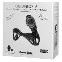 Cockring et Anneaux Vibrants Adrien Lastic - Gaine telecommande Gladiator F + LRS