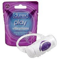 Cockring et Anneaux Vibrants Durex - Anneau vibrant Durex Play Vibrations