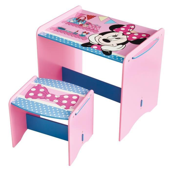 worlds apart minnie mouse bureau enfant et tabouret 237776. Black Bedroom Furniture Sets. Home Design Ideas