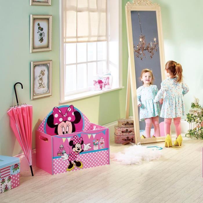 coffre a jouet minnie coffre jouets princesses playmobil. Black Bedroom Furniture Sets. Home Design Ideas