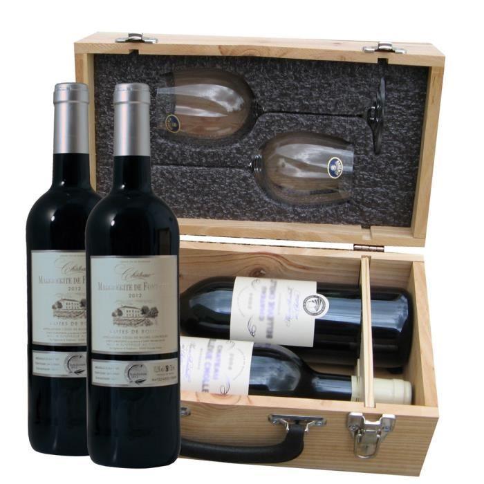 class wine coffret duo degustation 2 x c tes de bourg 2012 237881. Black Bedroom Furniture Sets. Home Design Ideas