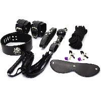 Coffrets BDSM Spoody Toys - Kit de bondage noir Toucher Veloute