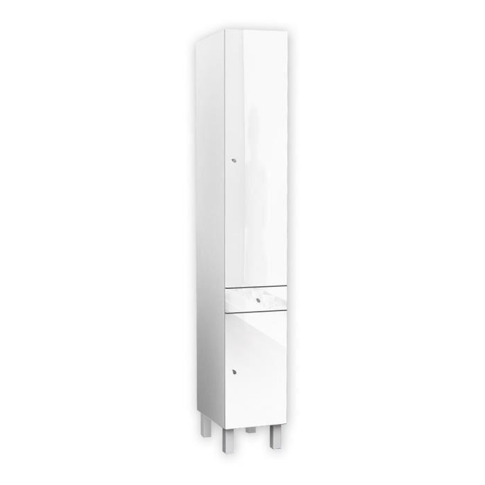 aucune corail colonne de salle de bain 30 cm blanc 263580. Black Bedroom Furniture Sets. Home Design Ideas