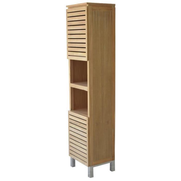aucune corail colonne de salle de bain 60 cm aubergine 263583. Black Bedroom Furniture Sets. Home Design Ideas