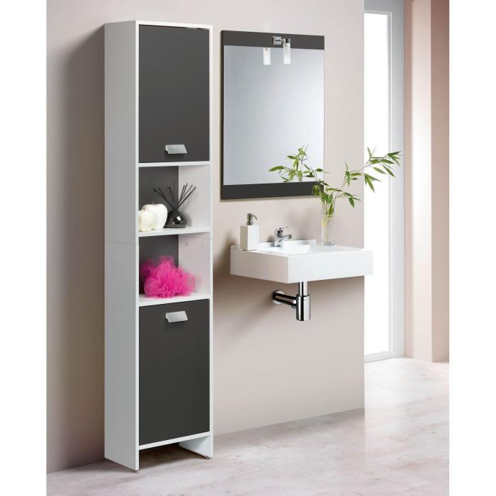 Colonne de salle de bain armoire de salle de bain mid - Articles de salle de bain ...