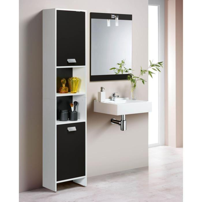 colonne de salle de bain armoire de salle de bain mid. Black Bedroom Furniture Sets. Home Design Ideas