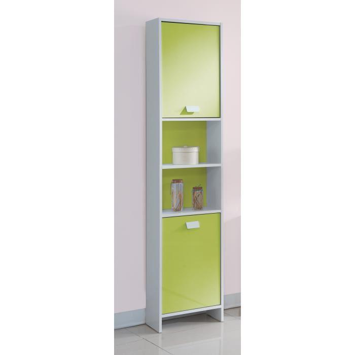 aucune top colonne de salle de bain 40 cm blanc et vert 380760. Black Bedroom Furniture Sets. Home Design Ideas