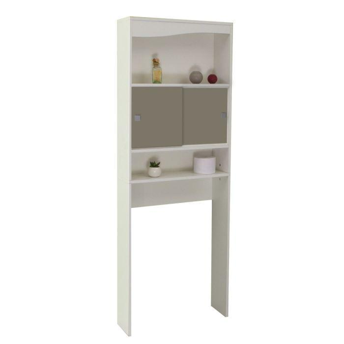 aucune meuble galet wc machine a laver blanc et gris taupe 238073. Black Bedroom Furniture Sets. Home Design Ideas