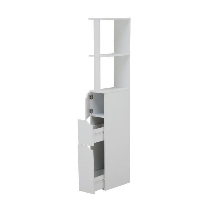aucune top colonne de toilette 15 cm blanc 390597. Black Bedroom Furniture Sets. Home Design Ideas