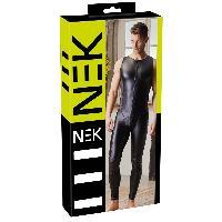 Combinaison Nek - Combinaison Opaque avec Zip noire - S