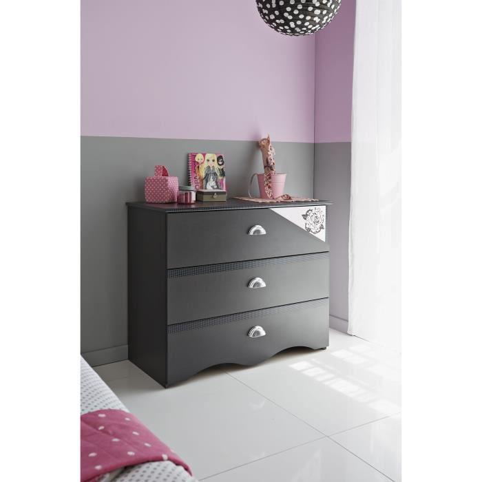commode chiffonnier semainier mid. Black Bedroom Furniture Sets. Home Design Ideas