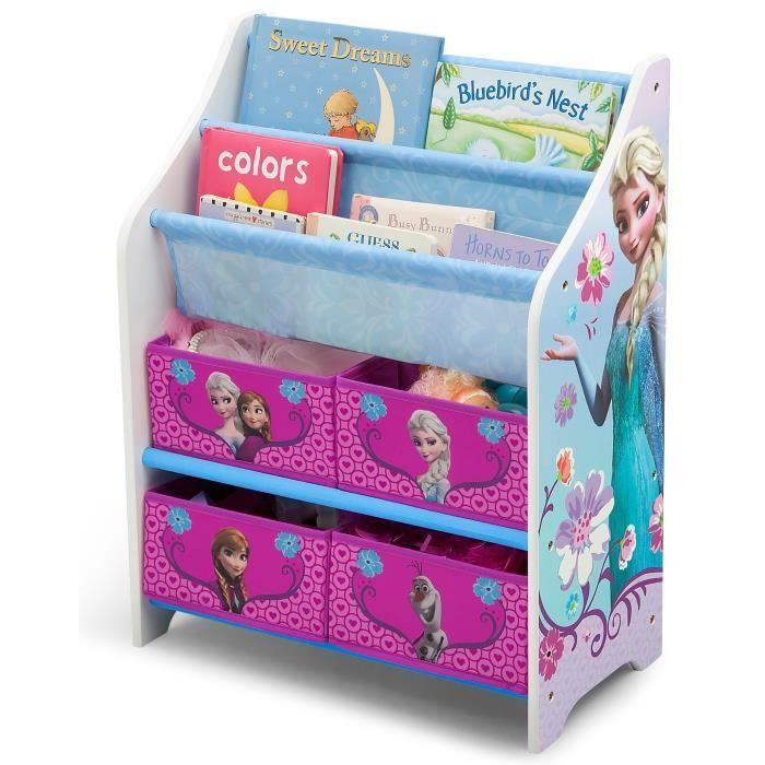 la reine des neiges meuble de rangement enfant et livres 238098. Black Bedroom Furniture Sets. Home Design Ideas