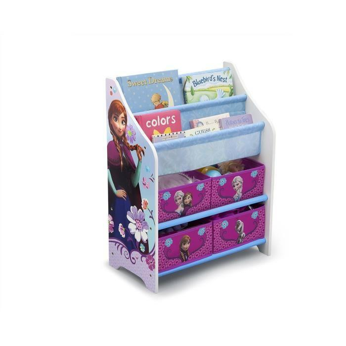 la reine des neiges meuble de rangement enfant et livres. Black Bedroom Furniture Sets. Home Design Ideas