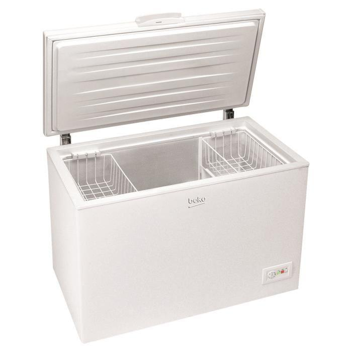 beko beko hsa32520 congelateur coffre 377972. Black Bedroom Furniture Sets. Home Design Ideas