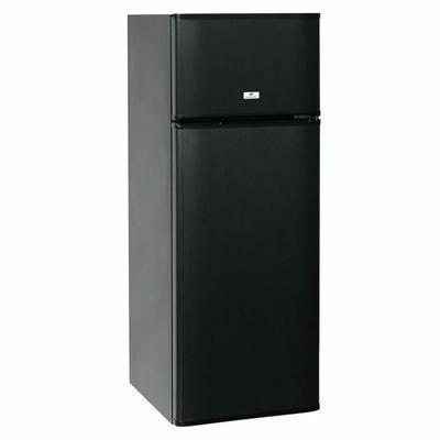 continental edison cef2d227b2 refrigerateur congelateur haut noir 345142. Black Bedroom Furniture Sets. Home Design Ideas