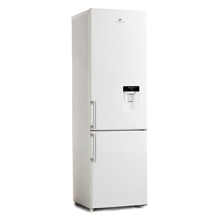 continental edison cefc244dw refrigerateur congelateur bas 244l a blanc 429820. Black Bedroom Furniture Sets. Home Design Ideas