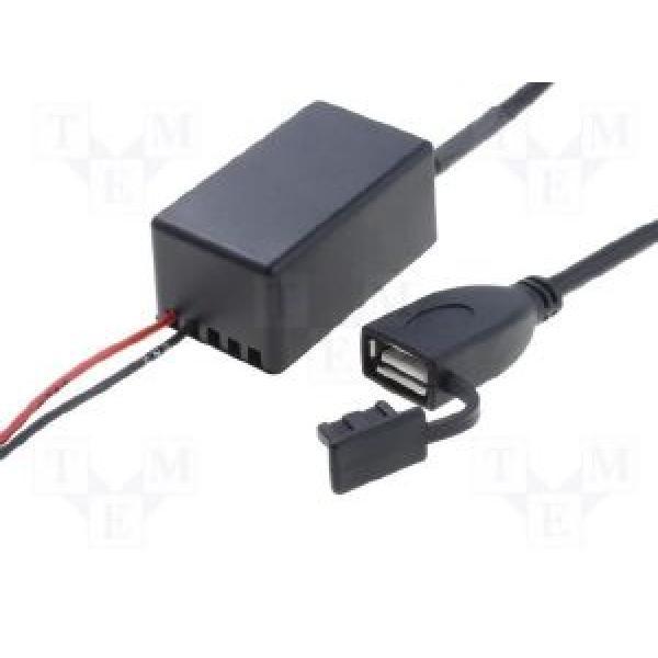 Convertisseur 12V vers USB Femelle 5V 2-1A avec cable