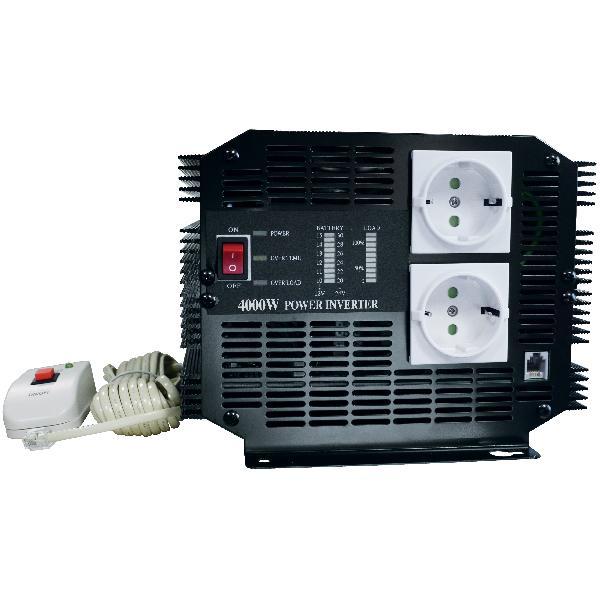 CONVERTISSEUR DE TENSION 24/220 V - 4000 WATT ROHS