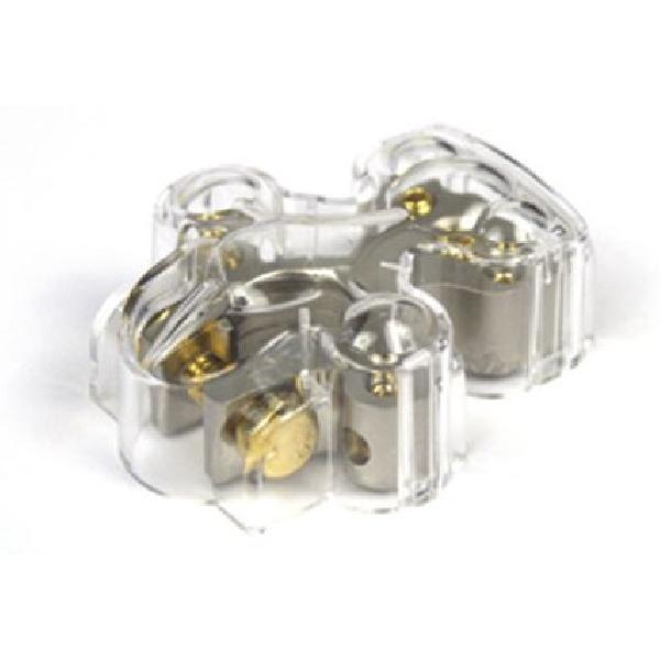 Cosse de Batterie - 1x20mm2 4x10mm2 protection - Borne MOINS