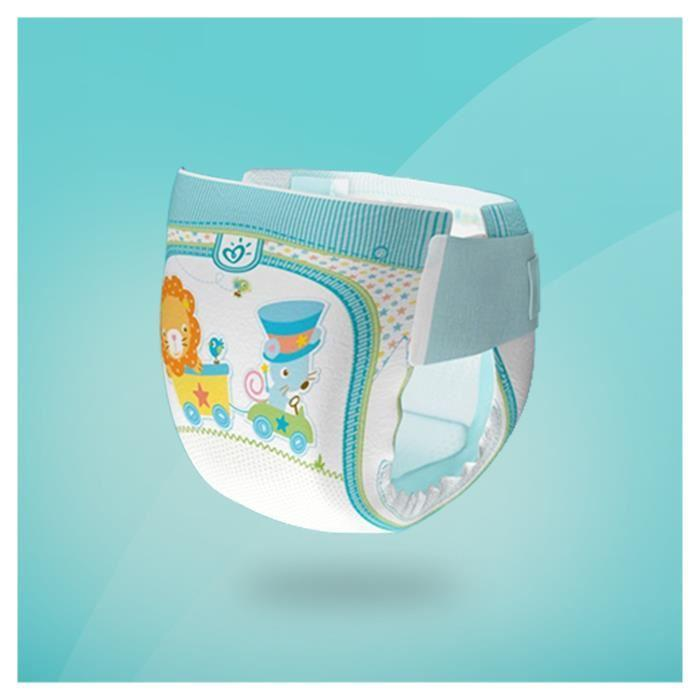Pampers pampers baby dry taille 2 3 a 6kg 33 couches 318529 - Couche pampers baby dry taille 3 ...