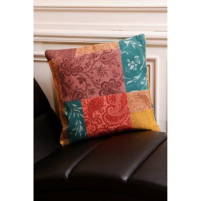 aucune coussin antalia 55 cm rose 303613. Black Bedroom Furniture Sets. Home Design Ideas