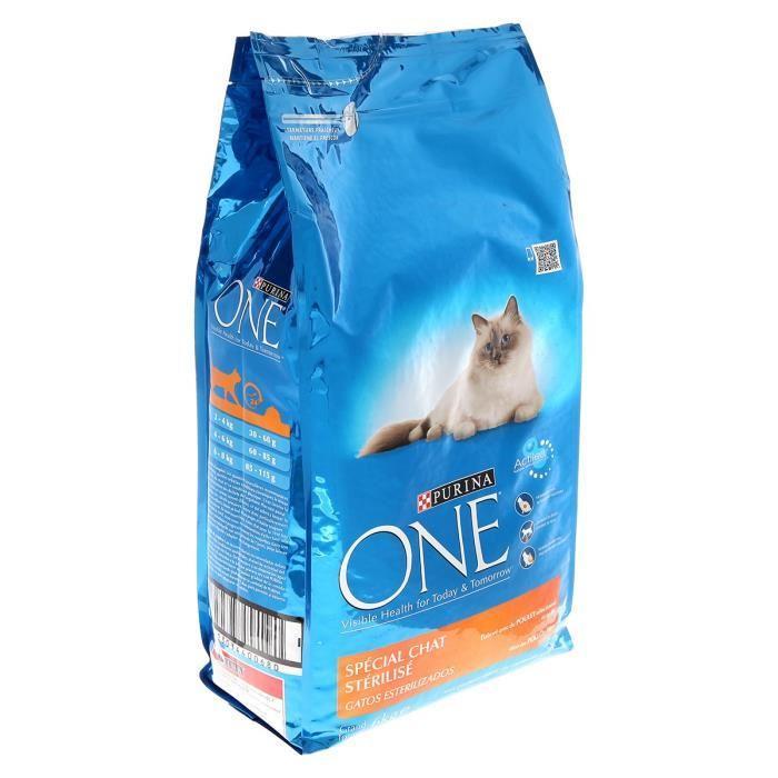 ONE Croquettes au poulet et ble pour chat sterilise - 6kg