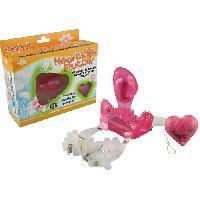 Culottes vibrantes LRDP - Culotte vibrante telecommande Heart of Thumb - Rose