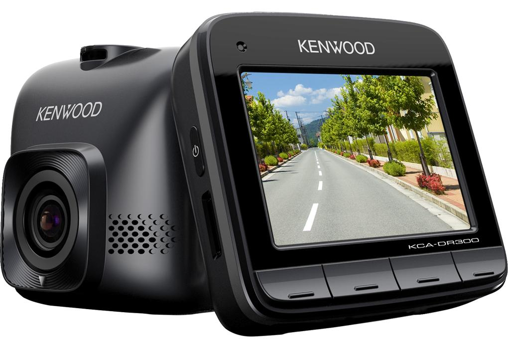 kenwood kca dr300 dashcam camera embarquee avec. Black Bedroom Furniture Sets. Home Design Ideas