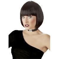 Deguisements LRDP - Perruque brune Be My Domina