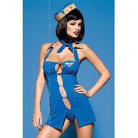 Deguisements sexy femme LRDP - Tenue Air Hostess TU S-M
